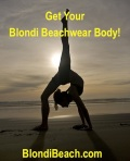 blondibeach workout yoga