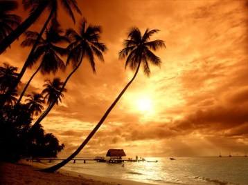 bali-beach sunset