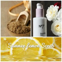 Lemon Juice Summer Facial Scrub
