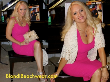 Dress_Hot_pink_cocktails_party_dress