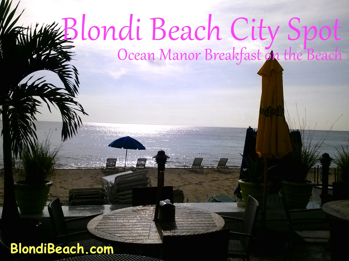 City Spot: {Ocean Manor} Breakfast On The Beach
