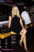 Jacqueline Jax at Mancini: Dress by BlondiBeachwear.com
