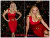 holiday red photo shoot jacqueline jax