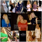 Style diary fashion collage