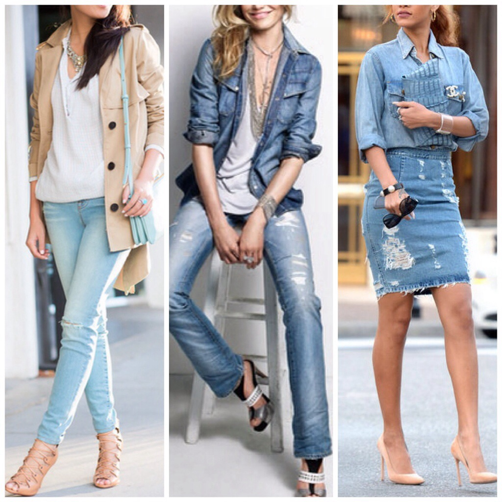 BLONDi Style: Light Denim Ideas | BLONDi BEACH