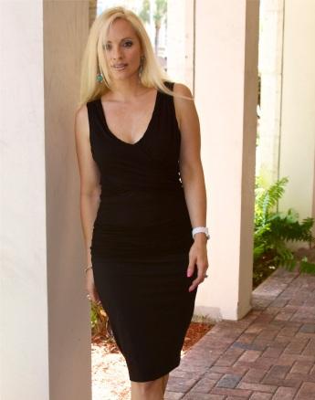 Blondi_Beachwear_Ruched top and skirt