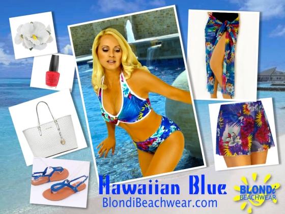 BLONDi_style_Hawaiian_blue_beachwear_swimsuit
