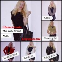 BLONDi Style: 1 Dress 6 Looks