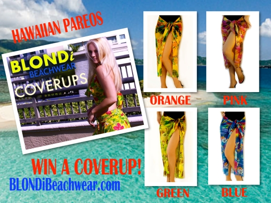 Blondi beachwear Coverup giveaway