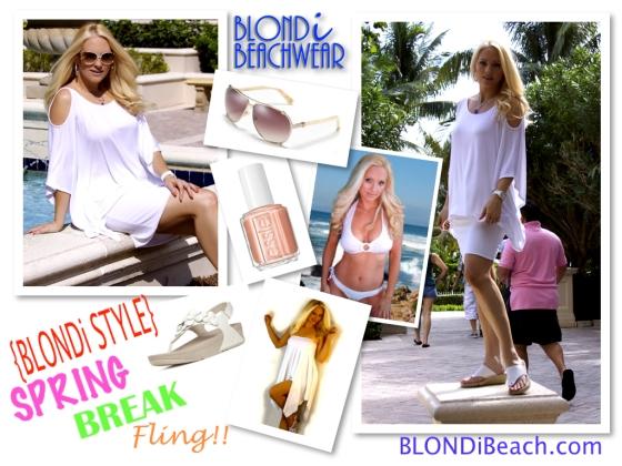 Blondi Beach Style Diary Spring Break Fashion