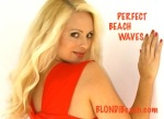 beach, wave, hairstyle, curling tips, beauty