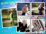 Blondi Style Five Looks On Girl