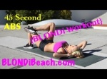 Rihannas Abs Workout Routine