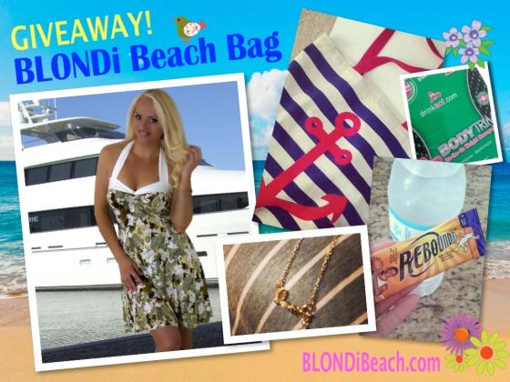 April Blondi Beach Bag Giveaway