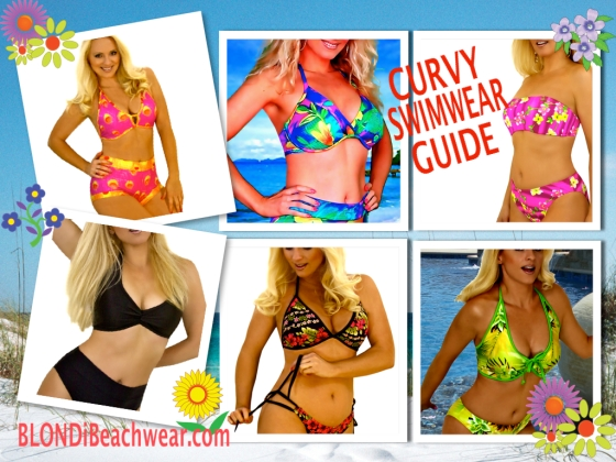 Curvy Large Bust Swimwear Guide Blondi Beachwear