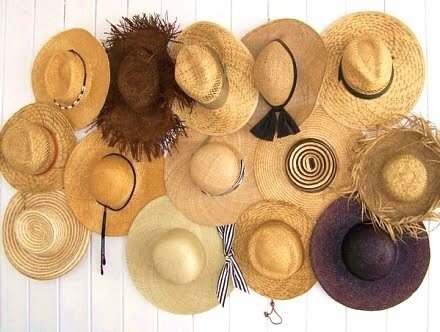 Ideas For Decorating With Your Beach Hat Collection Blondi Beach