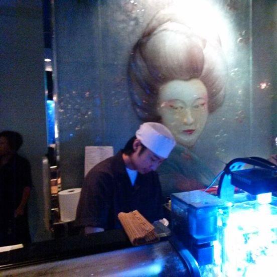 making sushi Tokyo blue fort lauderdale