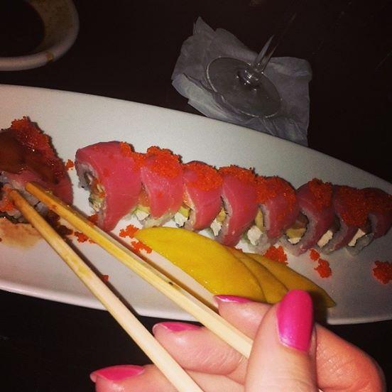 Tokyo Blue sushi roll fort lauderdale