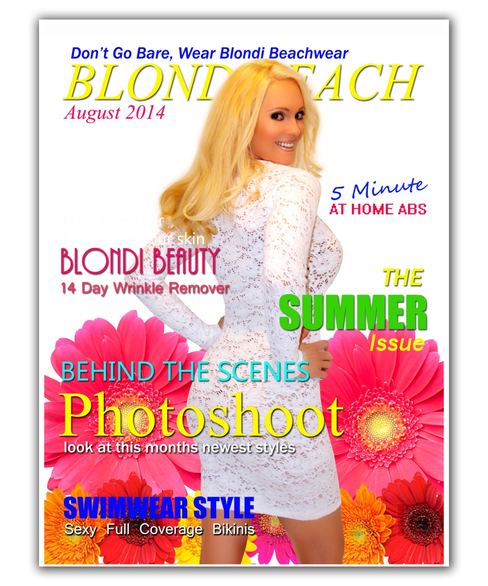 {BLONDi August} At the Cover Shoot