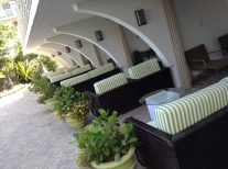 VIP cabanas at the ocean manor