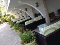VIP cabanas at the ocean manor