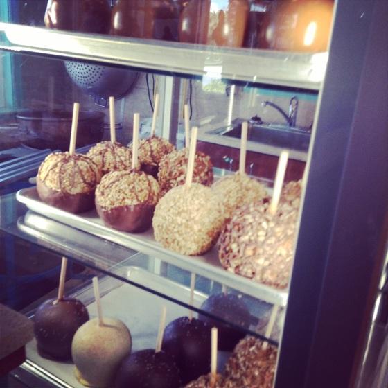 caramel apples fudge Kilwins Vero Beach Florida