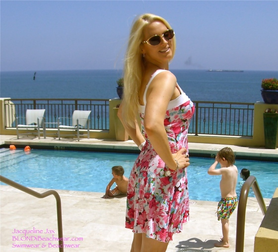 Blondi beachwear sundress florida photoshoot 2