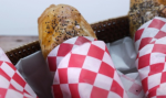 Savory onion sausage pastry