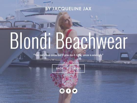 blondi beachwear fashion swimwear
